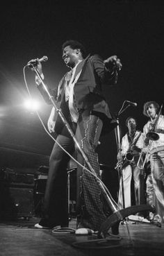 American singer Edwin Starr performs on stage at the Free Trade Hall in Manchester in September 1978 Cummins, Edwin Starr, Motown, American Singers, Live Music, Concert, Photography, Manchester, Musicians