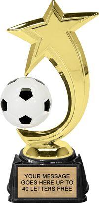 Soccer Spinstar Trophy