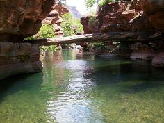 swimming in the creek bullpen near camp verde az
