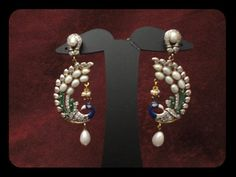 Sparkling Fashion: Victorian Designer Ear rings and Jhumka's