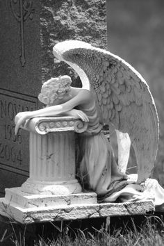 Grief Angel statue Gardening Lene Tattoo Pinterest