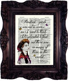 Anne of Green Gables Quote Best Friend Gift Anne Shirley Quote Kindred Spirit are Quote Book lovers Gift Birthday Gift Best Friend C:755 by OldStyleDesign on Etsy https://www.etsy.com/listing/399604221/anne-of-green-gables-quote-best-friend