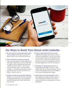 """6 ways to build your brand with LinkedIn - article featured in """"Pulse"""" magazine"""
