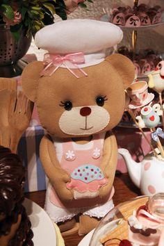 Decoração com ursinhos confeiteiros arrebata convidados - UOL Estilo de vida