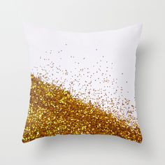 Glitter Is My Favorite Color II (NOT REAL GLITTER - photo) Throw Pillow