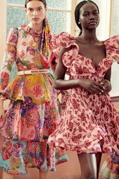 Live Fashion, Fashion Shoot, Women's Fashion Dresses, Editorial Fashion, Runway Fashion, Fashion Looks, Floral Fashion, Fashion Prints, Spring Summer Fashion