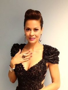 Hairstyle Trend 2013: How To Get A Braided Chignon, Pompadour Updo - Dancing With The Stars Brooke Burke Charvet | BeautyStat.com