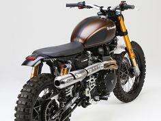 Triumph Scrambler- custom