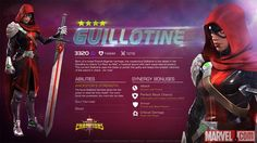 Guillotine in Marvel Contest of Champions