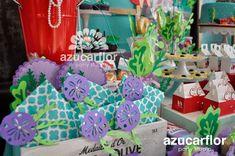 AZUCAR FLOR party studio: La Sirenita (disney)