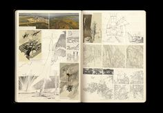 archisketchbook - architecture-sketchbook, a pool of architecture drawings, models and ideas - LIGHTNING FARM Smout Allen, Kyle Buchanan, an...