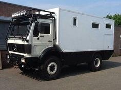 Overland Truck, Expedition Vehicle, 4x4, Mercedes Truck, Adventure Campers, Van Home, Honda Prelude, Bug Out Vehicle, Off Road Camper