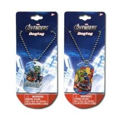 Amazon.com: Avengers Dog Tags 2-pack Set: Toys & Games