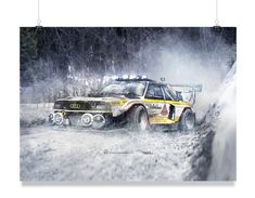 Audi Quattro Rally Spec Swap