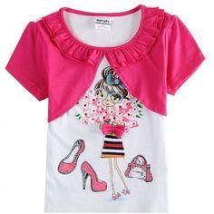 Camiseta Bolerinho Pink