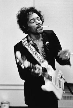 Linda McCartney , Jimi Hendrix, NY,1960s