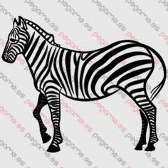 Pegame.es Online Decals Shop  #animal #zebra #vinyl #sticker #pegatina #vinilo #stencil #decal