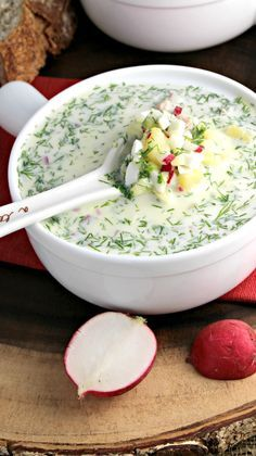 Cold Veggie Summer Soup Russian Okroshka