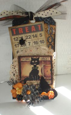 replace bingo card with picture halloween templets Halloween Treat Bags, Halloween Tags, Halloween Ornaments, Holidays Halloween, Halloween Decorations, Retro Halloween, Halloween 2019, Halloween Paper Crafts, Halloween Projects