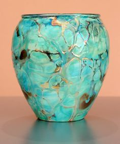 paul katrich art | Iridescent Pottery by Paul J. Katrich (1396)]