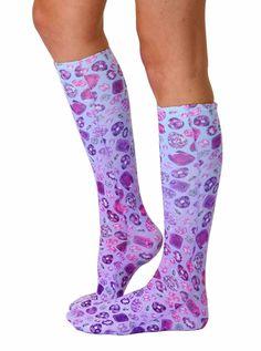 Jewels Knee High Socks
