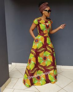 Check Out These Awesome traditional african fashion 7273 African Maxi Dresses, African Attire, African Fashion Designers, African Print Fashion, Mode Orange, Africa Dress, African Traditional Dresses, African Women, Kitenge