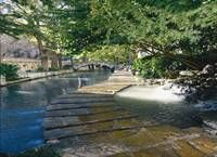 SAN ANTONIO, TX    Stroll the cobblestone paths of the River Walk one level below the busy city above. Dine al fresco at the bistros and cafes that line the river. Relax at a spacious resort or a B & B in the King William Historic District.
