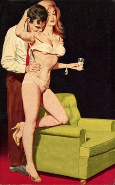 """Happy Friday vintagecoolillustrated: From the paperback """"Lust Empire"""""""