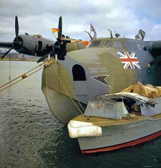 B.O.A.C Boeing Clipper in 1943.Boeing 314 A Flying Boat