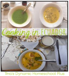 Cooking in Ecuador