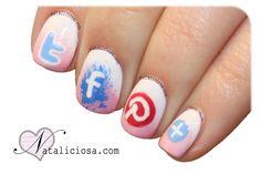 Social network icons - Iconos de redes sociales
