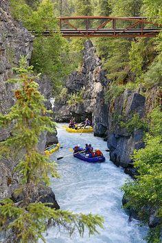Six Mile Creek in Alaska