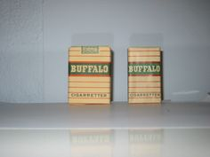 Buffalo Cigaretter No. 306 prod 1943-1946