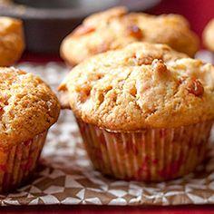 Wegańskie muffiny z jabłkami Food And Drink, Cupcakes, Breakfast, Sweet, Party Recipes, Birthday Cakes, Kindergarten, Blog, Sweet Recipes