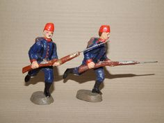 Antike Soldaten 10.5 cm Elastolin Türken mit Fez oder Tarbusch und im Sturm   eBay
