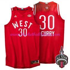 online store d6107 b5b22 2016 Toronto NBA All-Star Western Conference Golden State Warriors Stephen  Curry Red Jersey. Basketball Trikots NBA Günstig kaufen ...