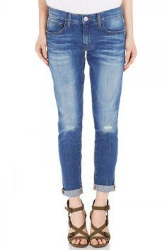 Mercer Boyfriend Jean - Pants & Shorts - Clothing - Shop | Rebecca Minkoff Online Store
