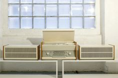 1960s Dieter Rams-designed Braun Atelier 1-81 audio system on eBay