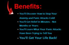Stop panic and anxiety attacks now. Get your life back. Free video + mini-series – IT WORKS!