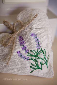 lavender heart sachet4