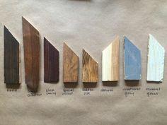 Gama de la montaña de arte de pared de madera por mountaindwelling