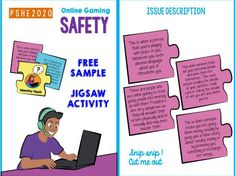 Online Gaming Safety Activity Pack