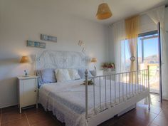 Panormos apartment rental - Double bedroom with balcony access!