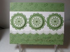 Farewell Wild Wasabi by pegmac71 - Cards and Paper Crafts at Splitcoaststampers