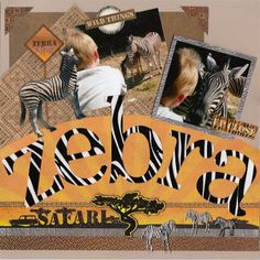 Image result for scrapbook pAGE layouts zoos