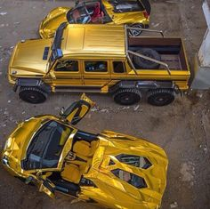 Bin Abdullah's pride at his golden fleet of cars is clear from the pictures, most of which...