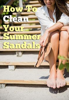 Say goodbye to dirty sandals
