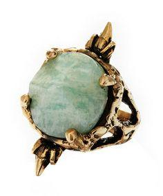 Crowley Amazonite Ring