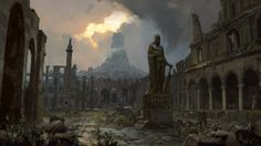 ArtStation - Path of Exile loading screens, Tomas Honz