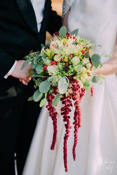 INNA Studio_wedding / wedding bouquet / bukiet ślubny / fot. Bajkowe Śluby
